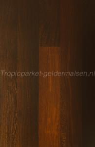 Houten planken 9 mm massief wengé hout tapis gelegd