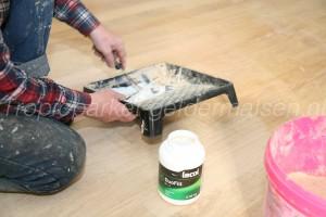 Gupa houtstof en lijm