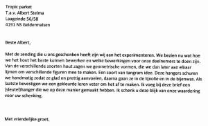 Bedankje Jan Houtkamp Weerwerk