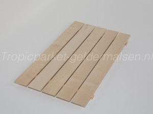 Onbehandeld esdoorn hout