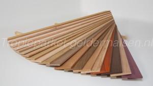 Originele kleuren van hout