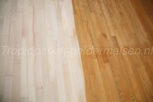 Schuren essen houten vloer