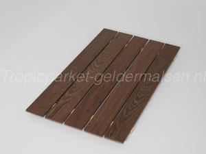 Onbehandelde hout wengé parket stroken